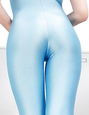 Lycra Asian Tits