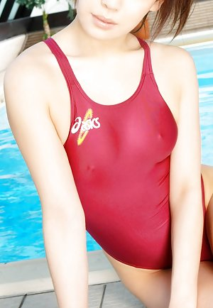 Swimsuit Asian Tits