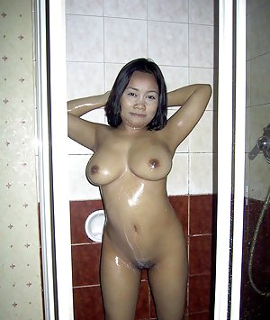Shower Asian Tits