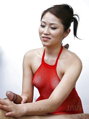 Handjob Asian Tits