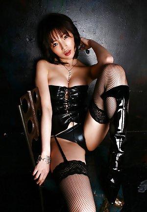 Latex Asian Tits