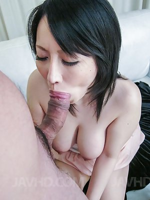 Blowjob Asian Tits